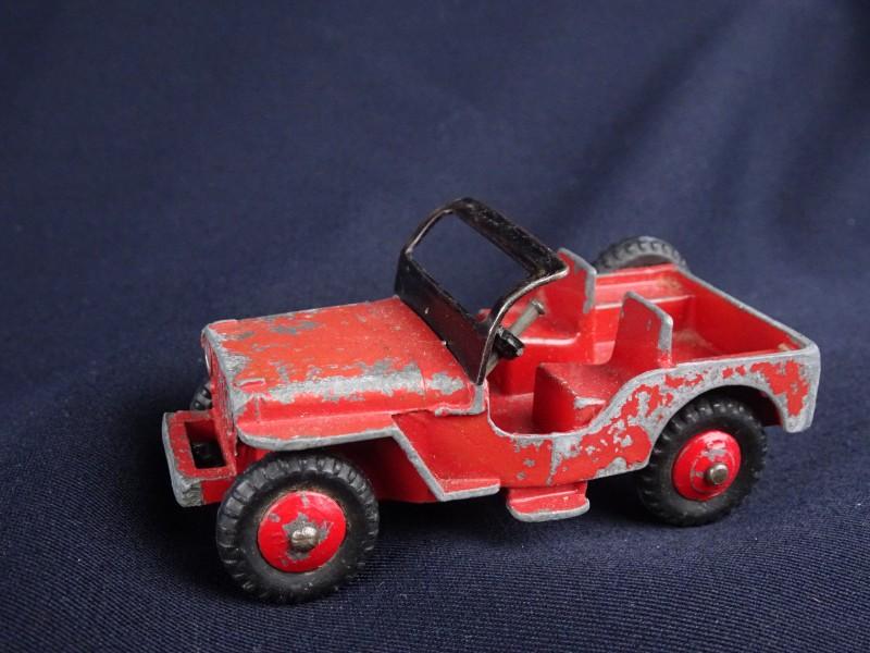 Vintage Dinky Toys JEEP.