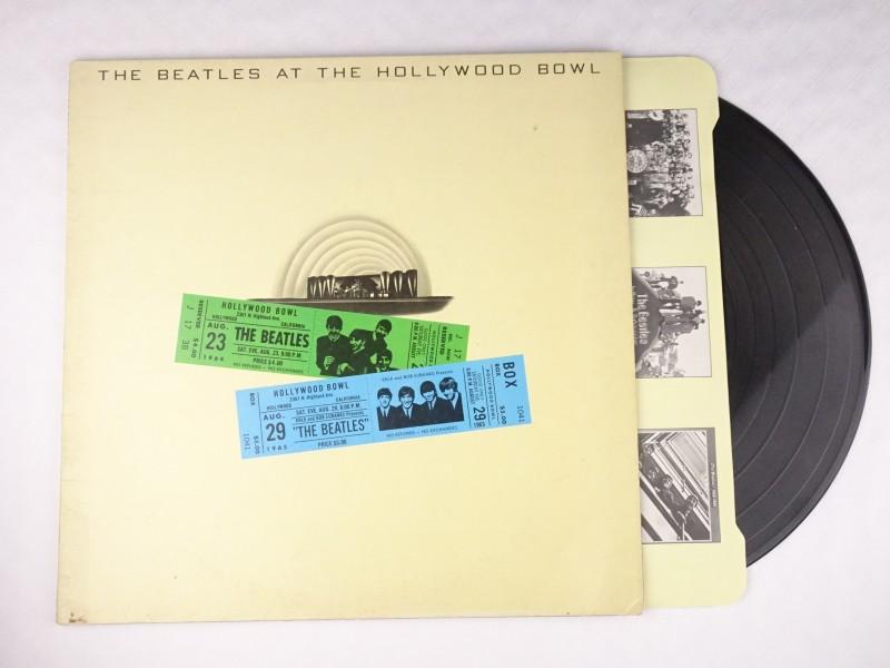 Vinyl album The Beatles at Hollywood Bowl.