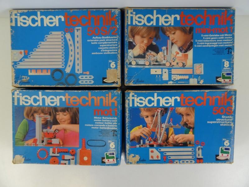 LOT Vintage Fischer Technik