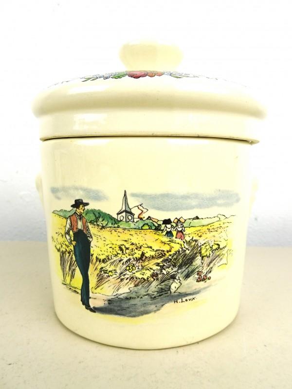 Porseleinen pot (Sarrequemines France)
