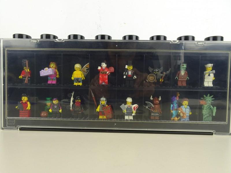 Verzameling Lego-poppetjes