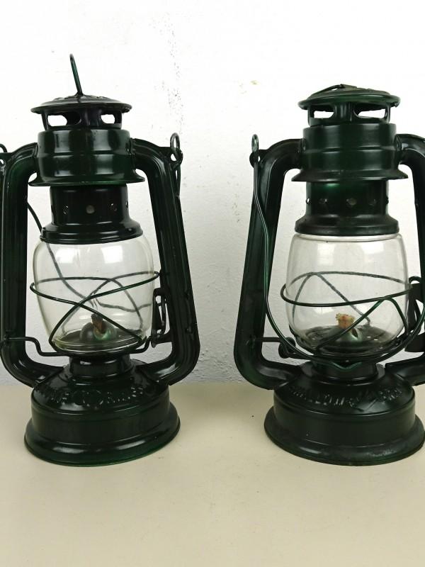 2 Retro-petroleumlampen