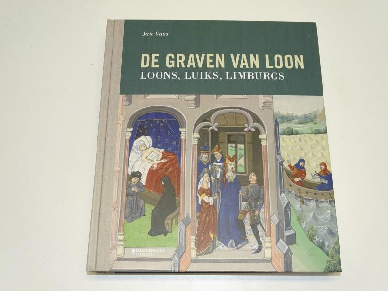 """Boek, Geschiedenis, """"De Graven Van Loon"""", Jan Vaes, Davidsfonds"""