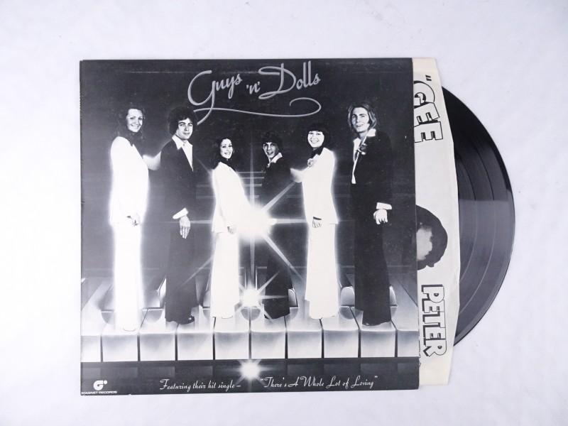 Vinyl album: Guy's 'n' Dolls.