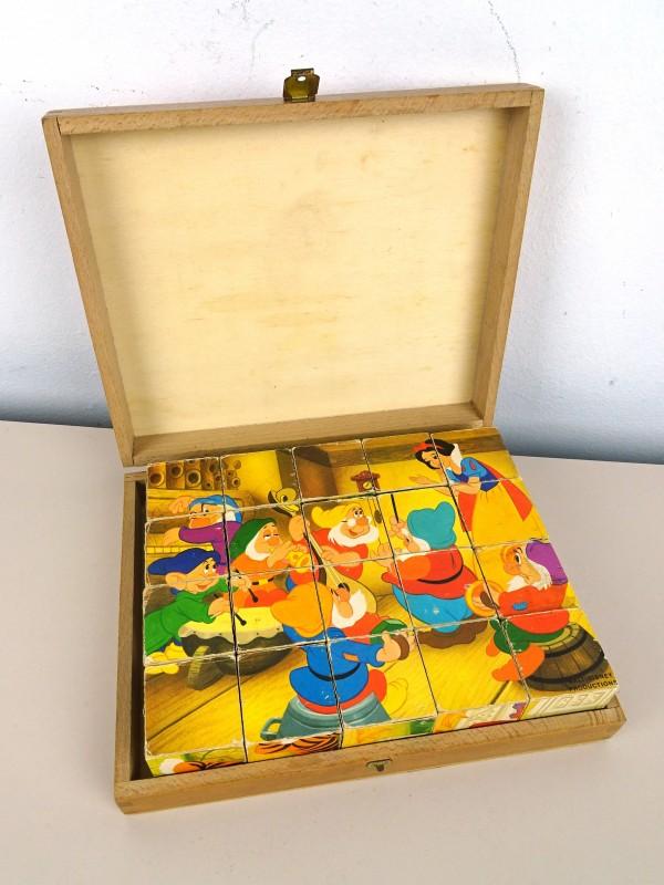Houten blokken puzzel (Walt-Disney)