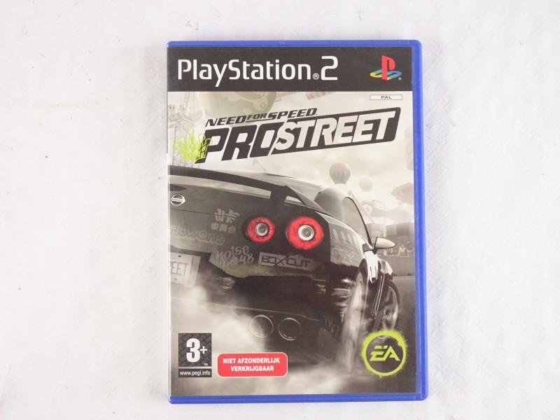 Playstation 2 spel: Need for Speed Prostreet.