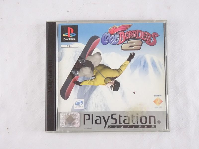 Playstation 1 spel: Cool Boarders 2.