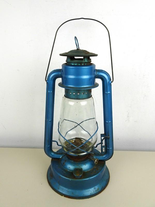 Vintage petroleumlamp (DIETZ No 80 BLIZZARD)