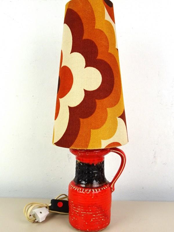 Vintage keramisch tafellamp