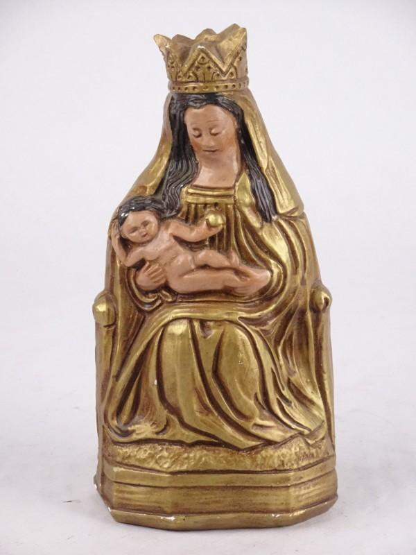 Vintage beeld Madonna met Kind.