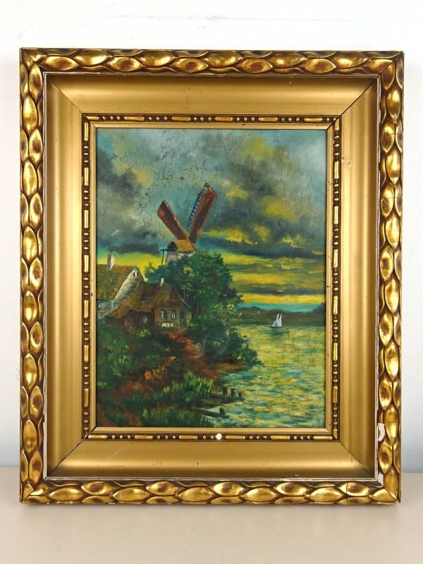 Vintage schilderij (Edmond H...?)