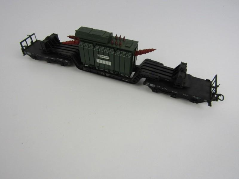 Modeltrein, Märklin HO, Goederenwagon met Transformator
