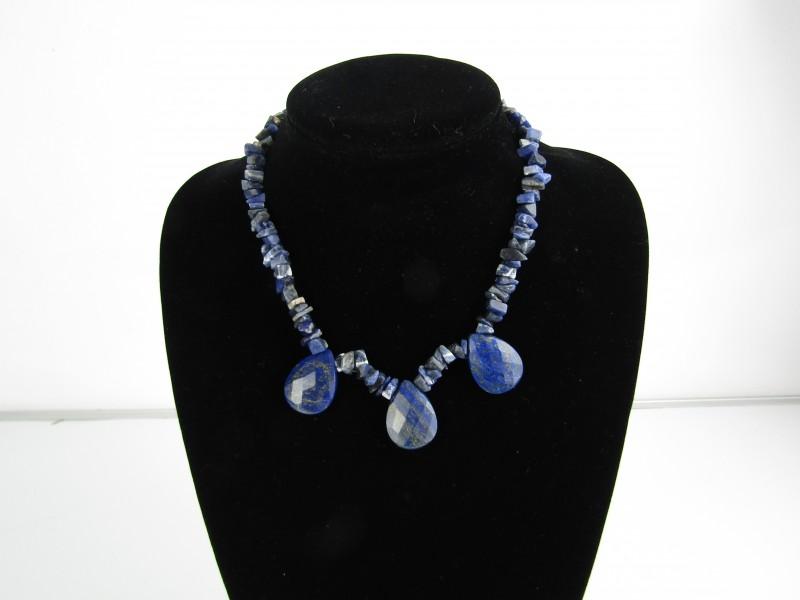 Halssnoer Edelgesteente: Lapis Lazuli
