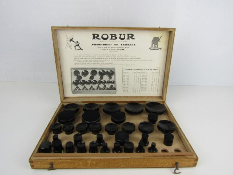 Robur, Glazenpers, Assortiment de Tasseaux Horloge
