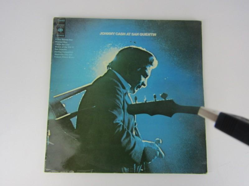 LP, Johnny Cash at San Quentin, 1969