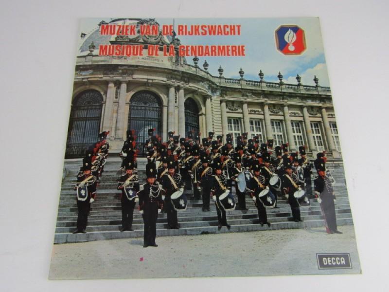 LP, Muziek van de rijkswacht, Decca