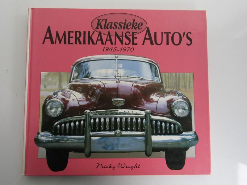 Boek: Klassieke Amerikaanse Auto's 1945 - 1970