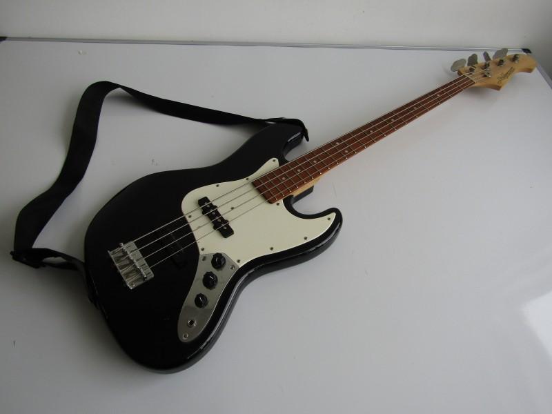Werkende Elektrische Bass Gitaar: J&D Brothers