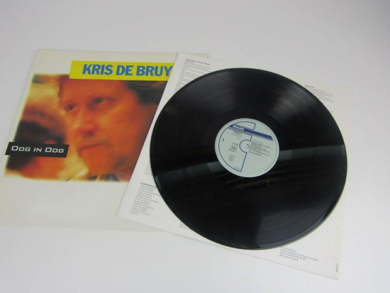 LP, Kris de Bruyne, 'Oog in Oog', 1989