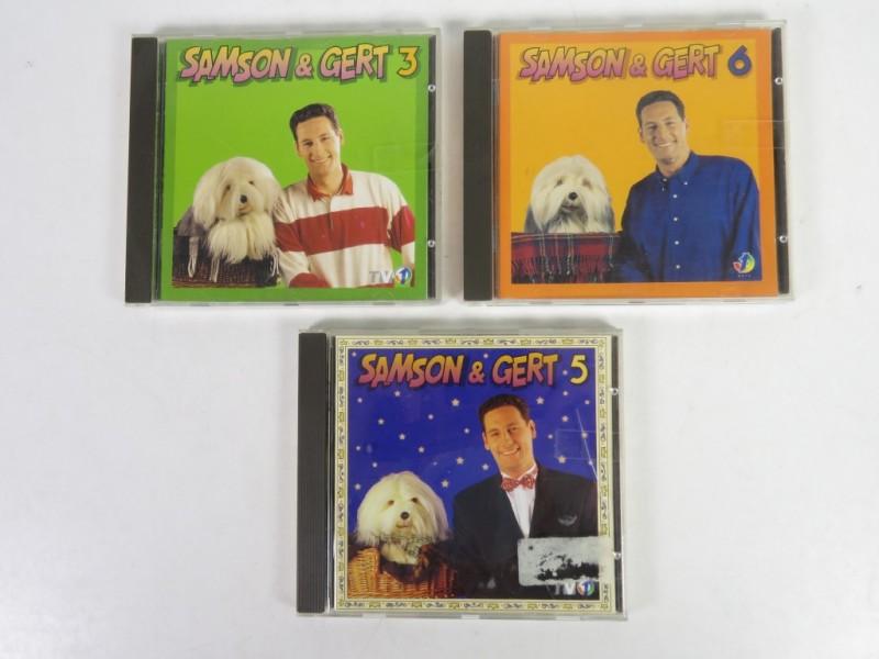 3 x Samson & Gert cd