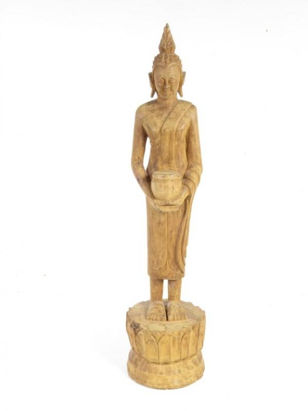 Orientaals beeld in hout