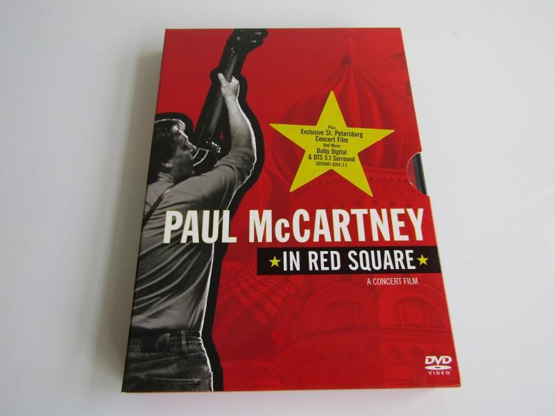 DVD / Concertfilm, Paul McCartney: In Red Square, 2005