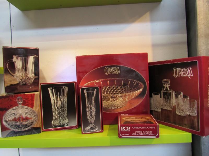 Kristal van RCR - lot 4 - 7 items
