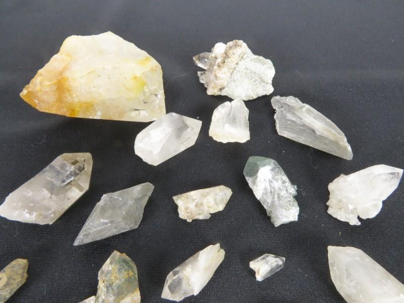 Verzameling kristallen