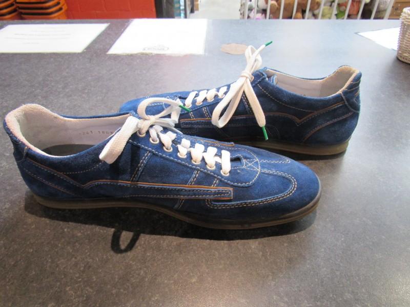 Blauwe herenschoenen Floris van Bommel - maat 45