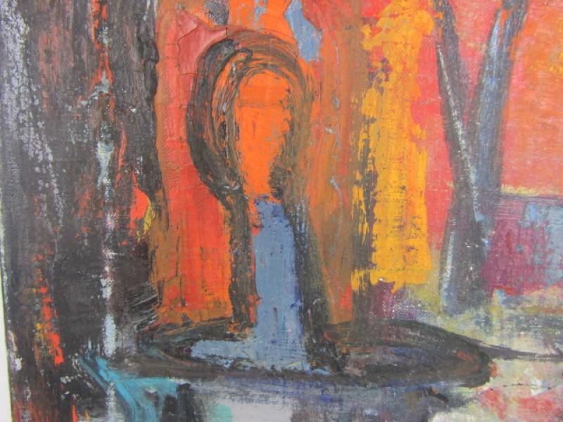 Schilderij, Stilleven, Germaine Brus