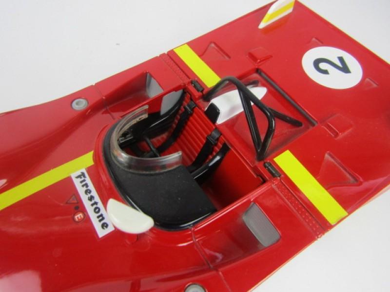 Schaalmodel Ferrari 1972, 1/18de, Andretti, Jacky Ickx