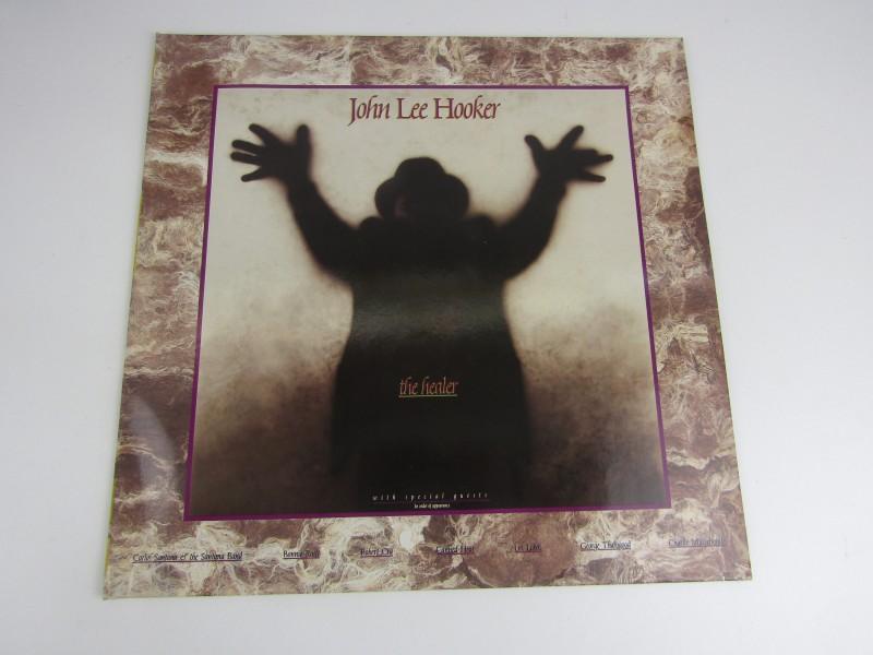 LP, John Lee Hooker, The Healer, 1989