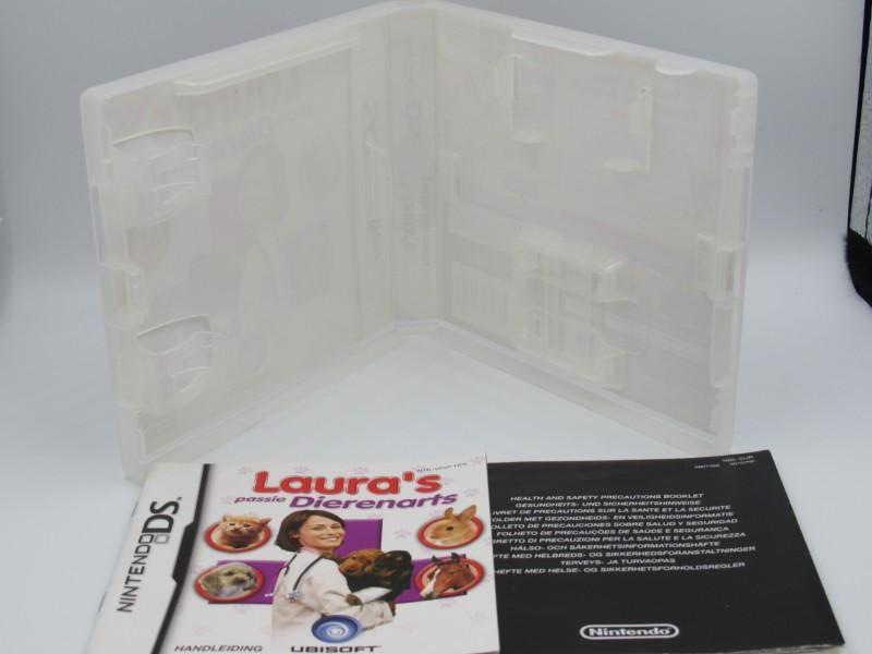Lot van vijf lege doosjes Nintendo DS