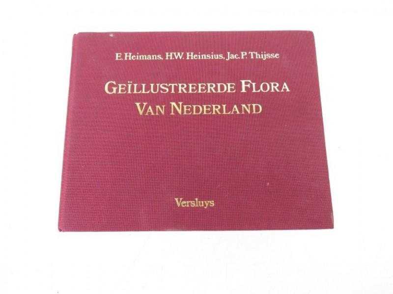Boek - Geillustreerde flora van Nederland