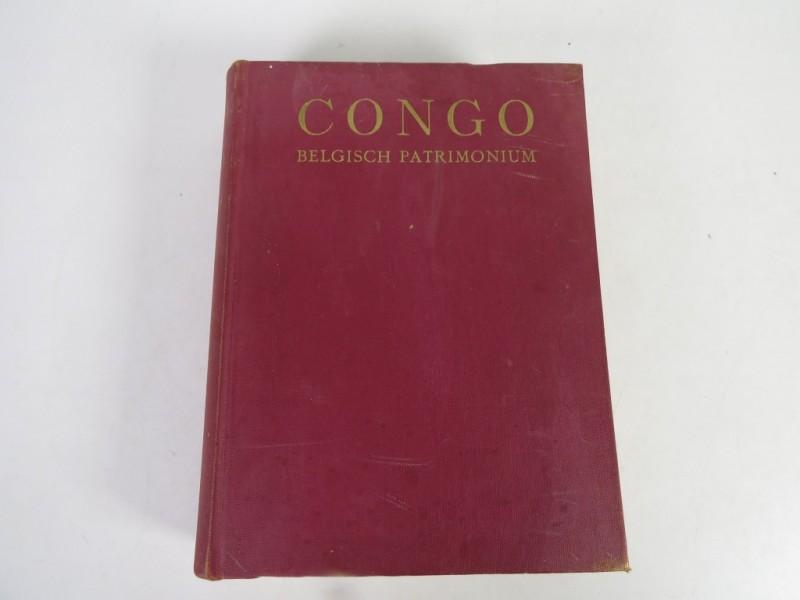 Boek - Congo - Belgisch patrimonium