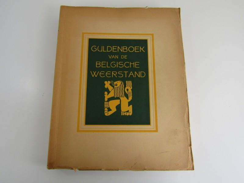 Boek: Guldenboek van de Belgische Weerstand