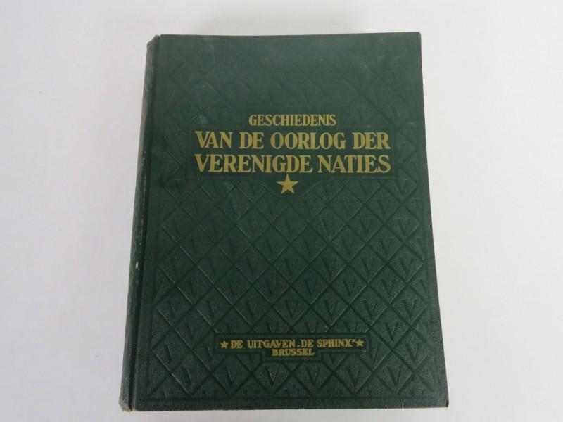 Boek - Geschiedenis van de oorlog der Verenigde Naties