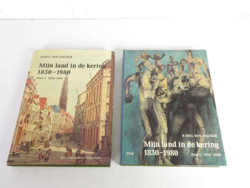 Boek - Mijn  land in de kering - deel 1 en deel 2