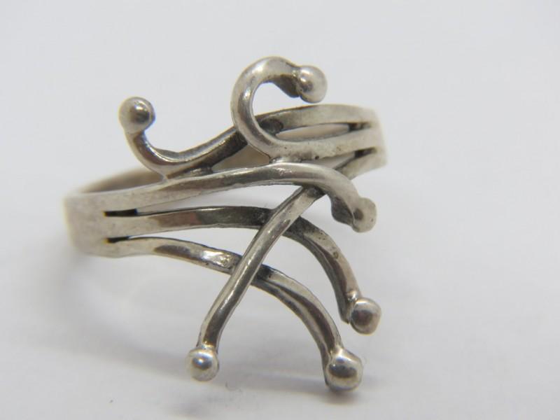 Zilveren ring 925 (2)