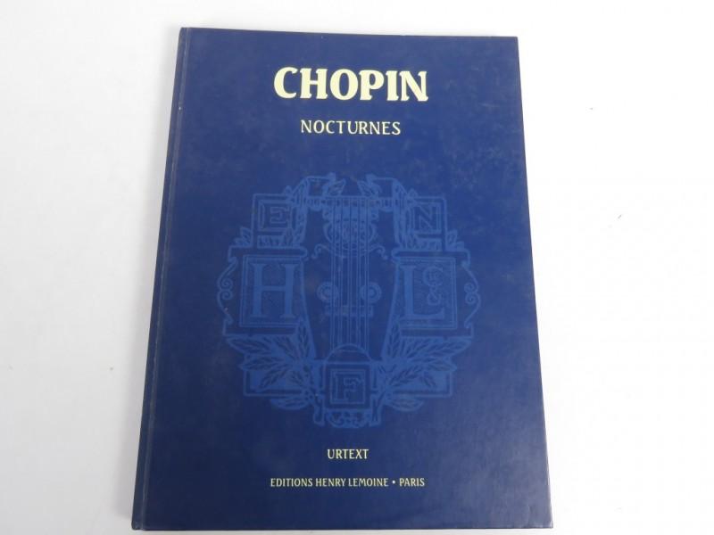 Partiturenboekje - Nocturnes Chopin