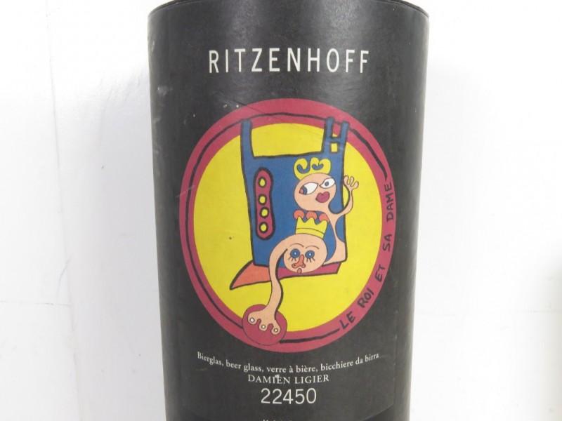 Ritzenhof glas ontworpen door Damien Ligier