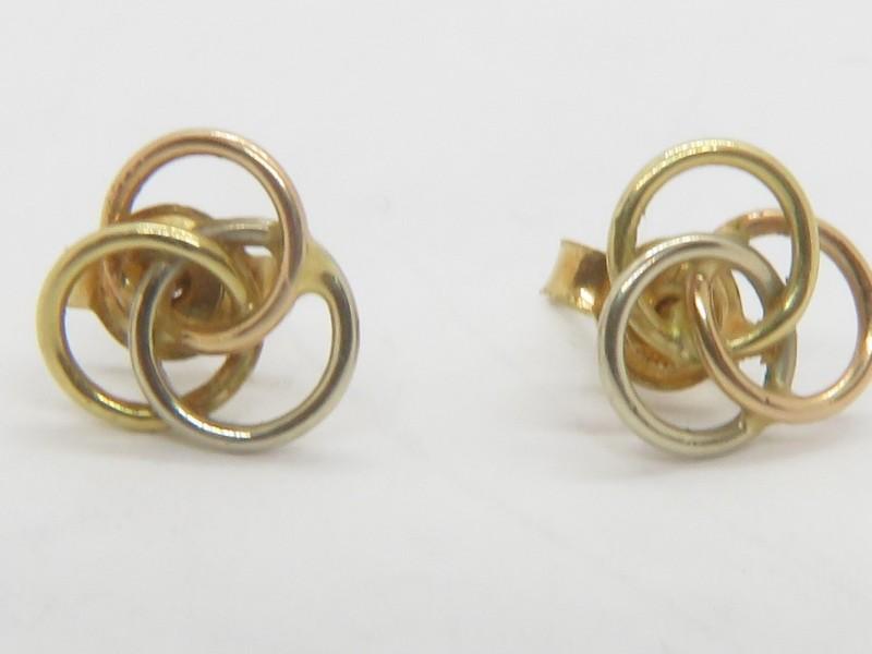 Gouden oorbellen 18 kt
