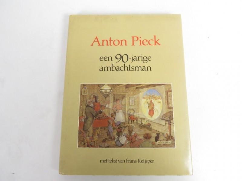Boek - Anton Pieck - een 90-jarige ambachtsman
