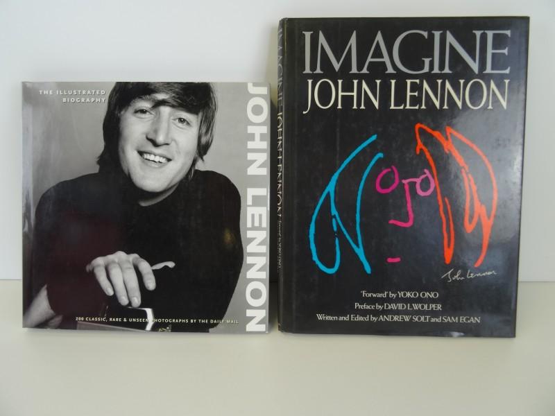 2 boeken John Lennon