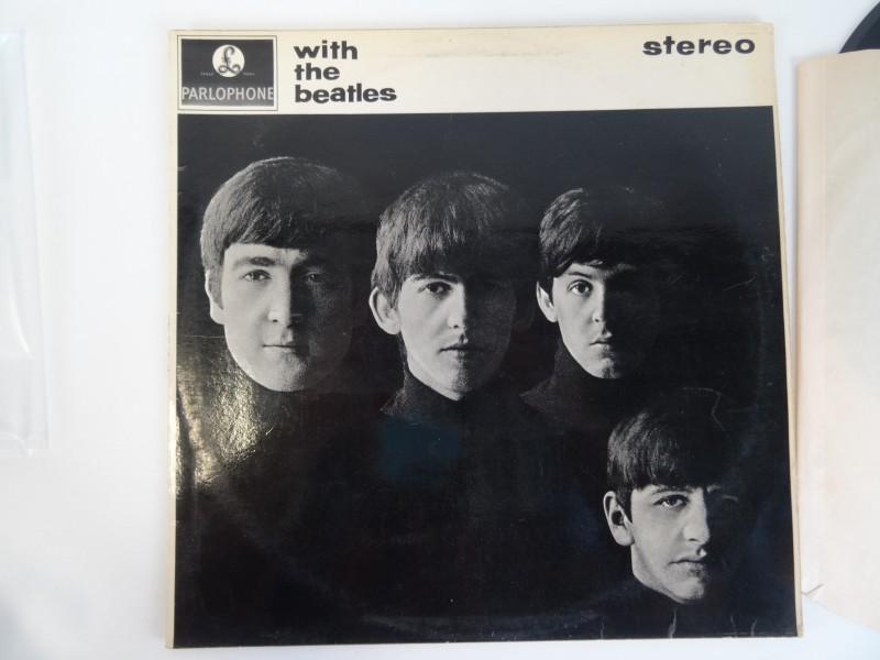 LP The Beatles - With the Beatles + postkaarten