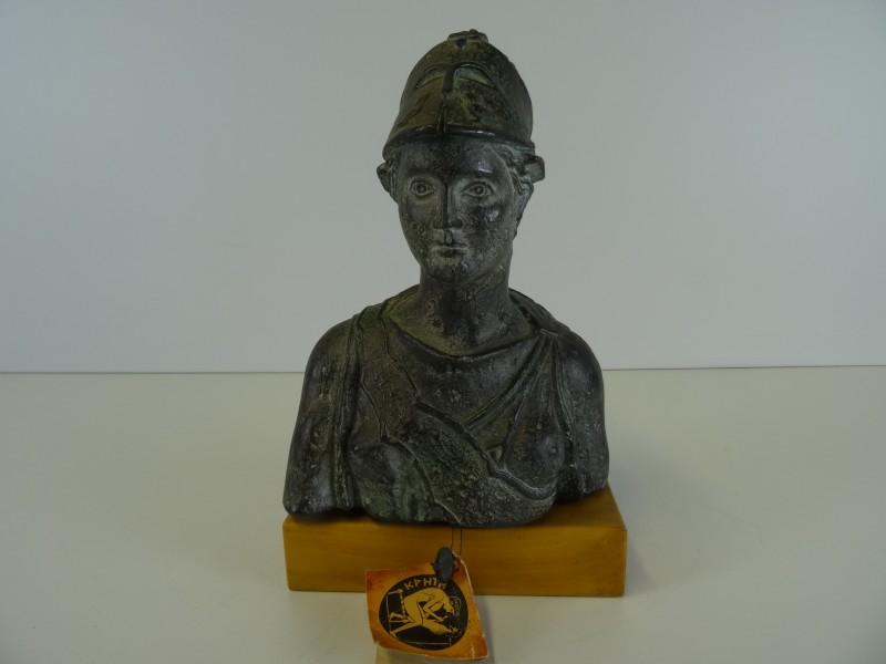 Borstbeeld Athena