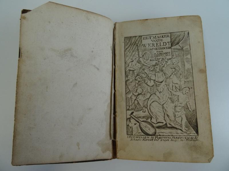 Adriaan Poirters: Het masker vande wereldt afgetrocken - 1646