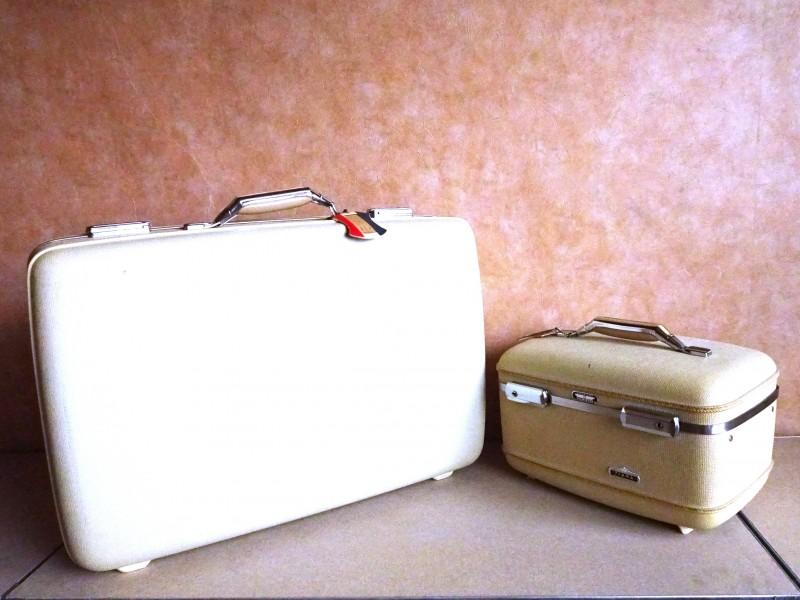 Vintage reiskoffer-set (Tiara)
