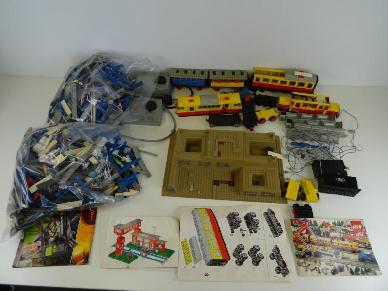 LOT Lego trein accessoires, wagons