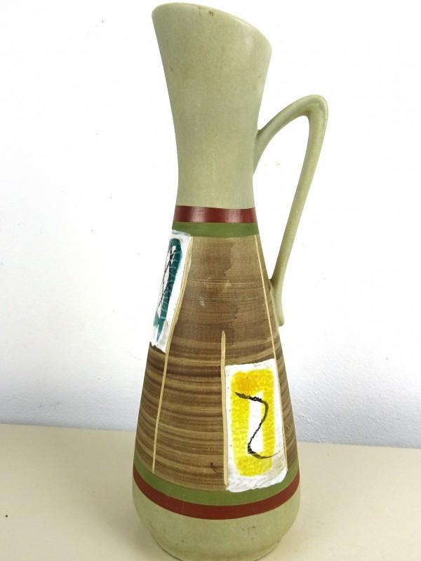 Vintage aardewerk vaas
